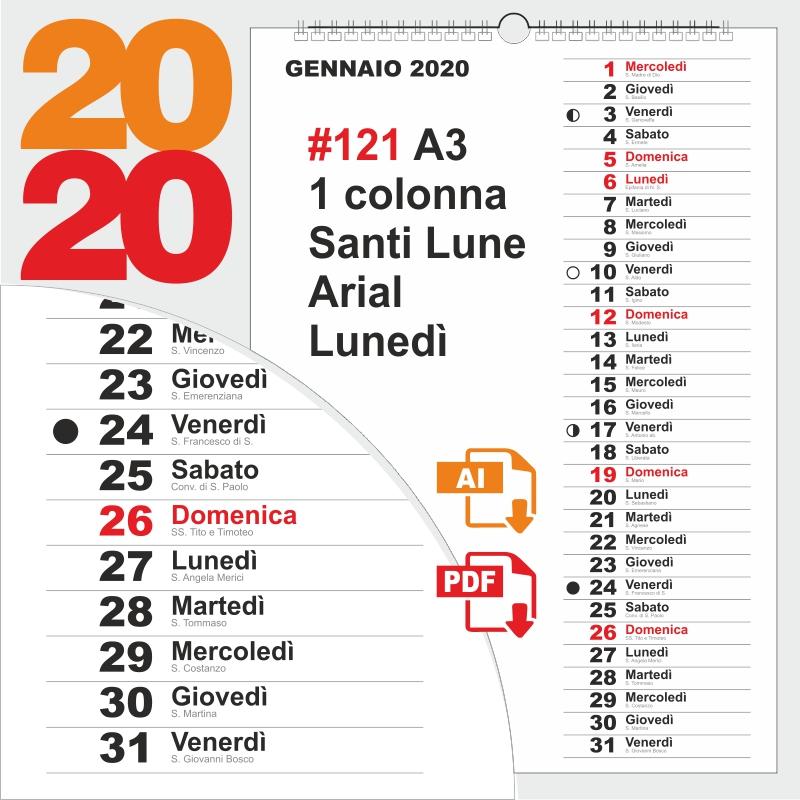 Calendario 2020 Gratis Con Foto.Calendario Vettoriale Calendario In Formato Vettoriale